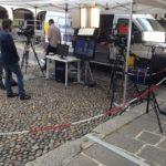 Regia mobile e stand telePavia