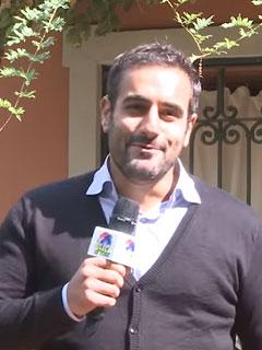 Alessio Molla, conduttore di Dillo in tour
