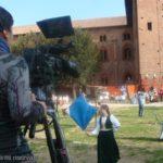 registrazione trasmissioni in castello a vigevano