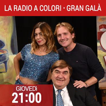 La radio a colori Gran Galà - Grande musica con Mariarosa Aurelio, Marco Clerici e Ricky Renna