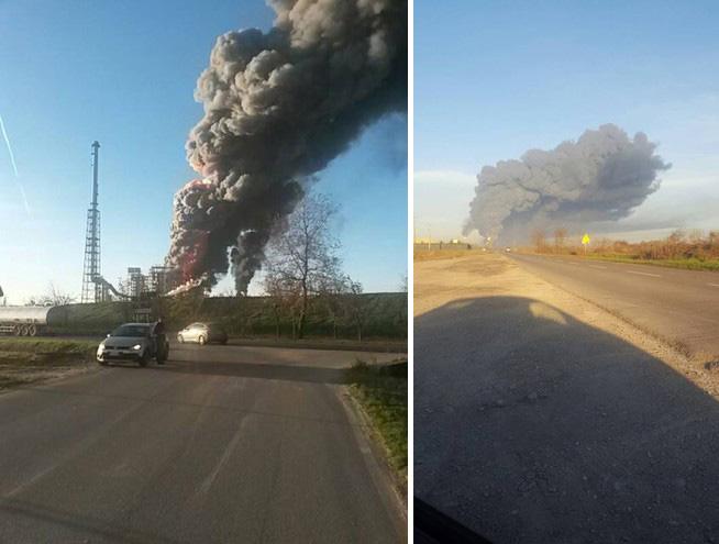 Scoppio alla raffineria di Sannazzaro, attiavato il piano di emergenza interno