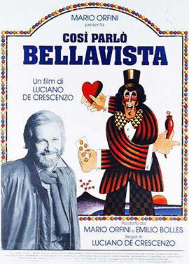 Così parlo Bellavista, locandina
