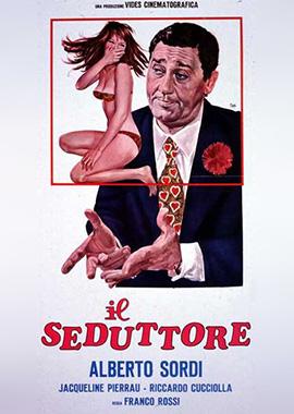 Il seduttore con Alberto Sordi e Lea Padovani