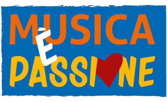 Musica è passione: logo del programma musicale dal vivo