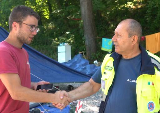 Arrivano i boy scout: dal Belgio a Broni per ripulire i sentieri di Recoaro
