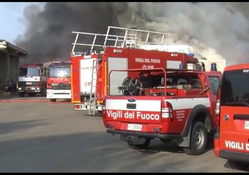 Mortara, incendio Berté: non fu autocombusione