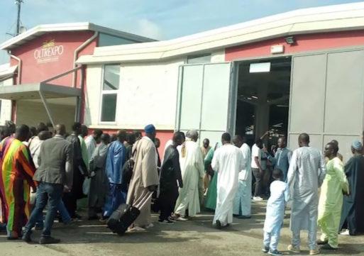 Mille senegalesi al raduno ospitato a Casteggio
