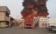 """Spaventoso incendio a Mortara. Il sindaco: """"Tenete le finestre chiuse per precauzione"""""""