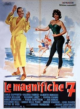 LE MAGNIFICHE SETTE, LOCANDINA