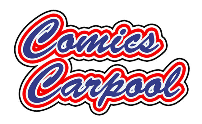 Comics Carpool: car talk con Peeter Cap, logo